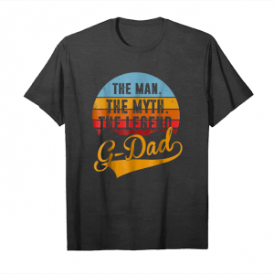 Buy G Dad   Mens The Man The Myth The Legend G Dad Tshirt Unisex T-Shirt