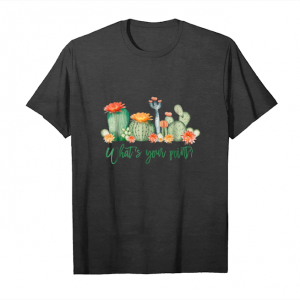 Get Now Cactus Funny T Shirt  What's Your Point T Shirt Unisex T-Shirt