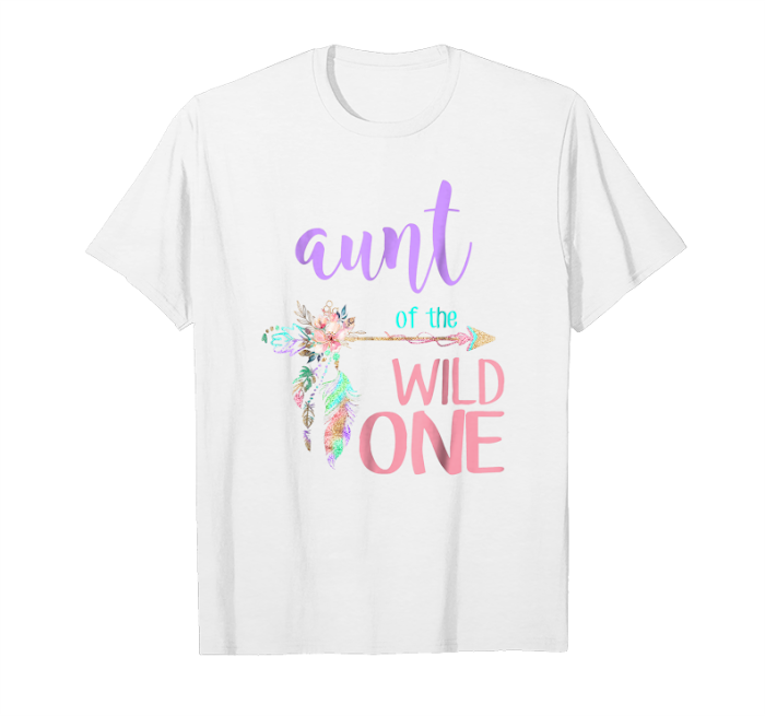 8305b2f8 Trending Aunt Dad Mom Wild One Matching Family Boho Birthday Shirts Unisex  T-Shirt