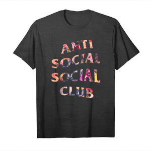 Get Now Anti Social Media Club T Shirts Gift Tee For Men Women Unisex T-Shirt