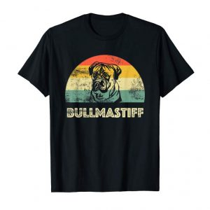 Cool Bullmastiff Dog Vintage Love Bullmastiff T-Shirt