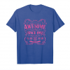 Buy 21st Birthday Gift T Shirt Awesome Since 1997 Pink Unisex T-Shirt