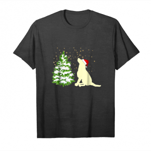 Buy Yellow Lab Christmas Hat Santa Hat Unisex T-Shirt