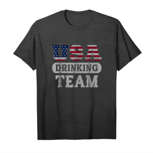 Buy Usa Drinking Team Shirt Party T Shirt Unisex T-Shirt