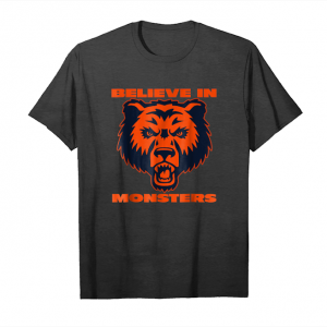 Order North Champions 2018 Bears T Shirt Believe In Monsters Unisex T-Shirt