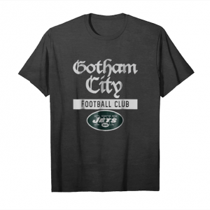 Buy Now New York Jets Gotham City Football Club T Shirt Offical_1 Unisex T-Shirt