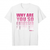 Buy Now Mean Girls Obsessed With Me Pink Gradient Graphic T Shirt Unisex T-Shirt
