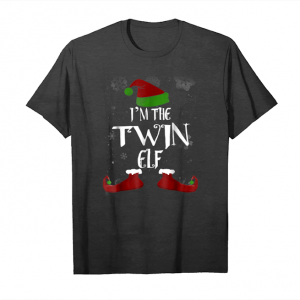 Get I'm The Twin Elf Funny T Shirt Unisex T-Shirt