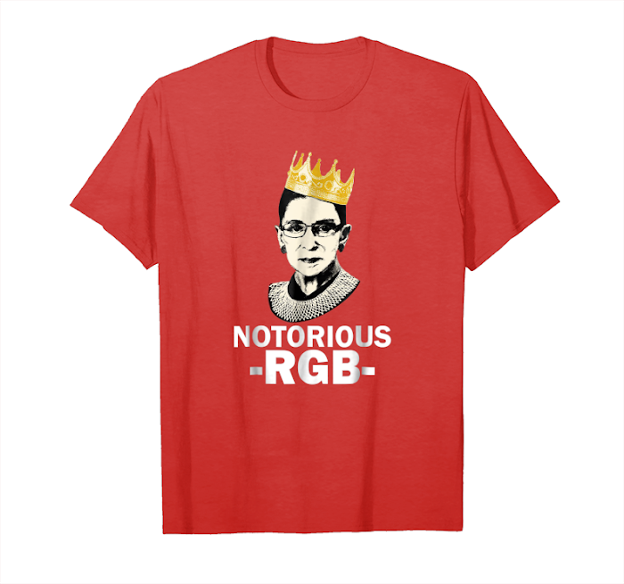 f2da4758 Order Now Funny Ruth Bader Ginsburg T Shirt The Notorious Rbg Shirt Unisex T -Shirt