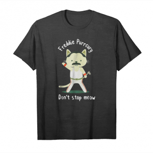 Trends Freddie Purrcury Dont Stop Meow Shirt Unisex T-Shirt