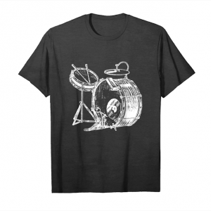Cool Drum Tshirts Funny Gifts For Drummer Unisex T-Shirt
