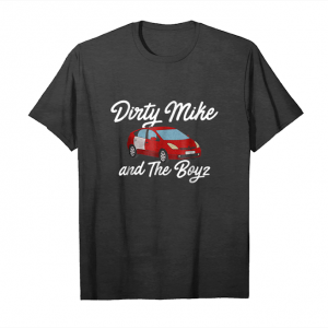Cool Dirty Mike And The Boys Red Car T Shirt Unisex T-Shirt