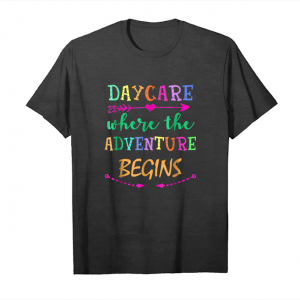 Trends Daycare Adventure Begins Teacher Back To School T Shirt Unisex T-Shirt