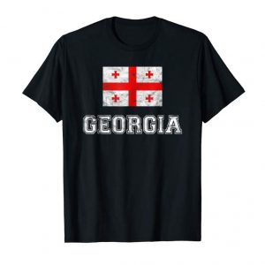 Buy Now Georgia Flag Vintage I Men Women Kids Gruzin T-Shirt