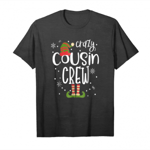 Order Now Crazy Cousin Crew Family Matching Christmas Party T Shirt Unisex T-Shirt