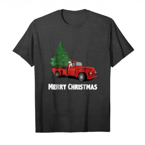 Get Now Christmas Tree Vintage Wagon Classic Truck Shirt Unisex T-Shirt