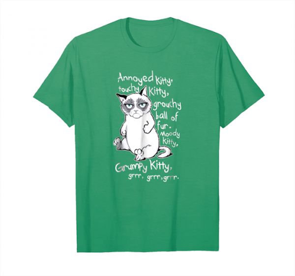 Buy Annoyed Kitty, Touchy Kitty T Shirt Unisex T-Shirt
