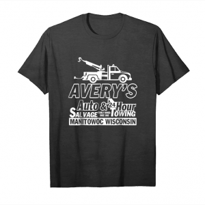 Cool Averys Auto Manitowoc Wisconsin T Shirt Salvage & Towing Unisex T-Shirt