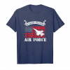 Buy Air Force Shirt Us Flag F 16 Fighter Falcon Pride Tee Unisex T-Shirt