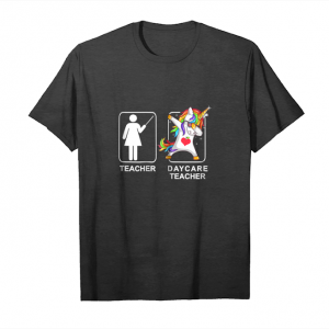 Order Now Womens Daycare Teacher Unicorn Dabbing Funny T Shirt Gifts Dab Dabs Unisex T-Shirt