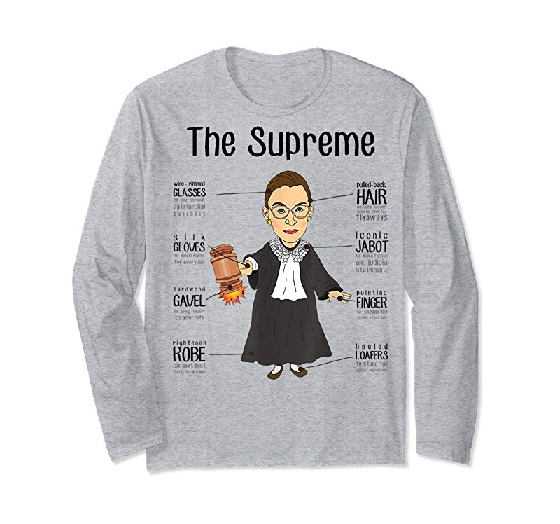 0a7d0532 Buy THE SUPREMES Supreme Court Justices RBG Cute T-Shirt - Tees.Design