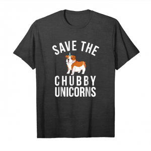 Trending Save The Chubby Unicorns T Shirt, English Bulldog Shirt Unisex T-Shirt