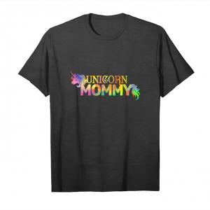 Trends Mommy Unicorn Theme Birthday Party Outfit Moms Gift Shirt Unisex T-Shirt