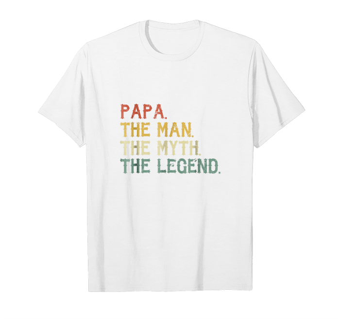 Men/'s Novelty T shirt DAD The Man The Myth The Legend Father/'s Day Gift