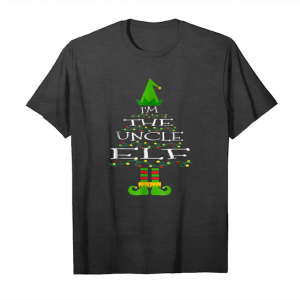 Buy I'm The Uncle Elf Matching Family Tree Christmas Tshirt Unisex T-Shirt