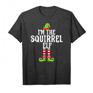 Buy I'm The Squirrel Elf Group Matching Family Christmas Tshirt Unisex T-Shirt