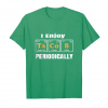 Trending I Enjoy Tacos Periodically , Funny Periodic Table T Shirts Unisex T-Shirt