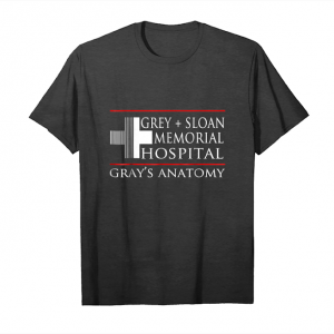 Buy Now Grey Sloan Memorial Hospital Anatomy Shirt Unisex T-Shirt