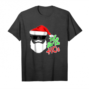 Buy Funny Santa Claus Christmas Shirt Gift   I Do It For The Hos Unisex T-Shirt