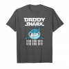 Trending Daddy Shark Funny Shark Lover T Shirt For Dad Father Unisex T-Shirt
