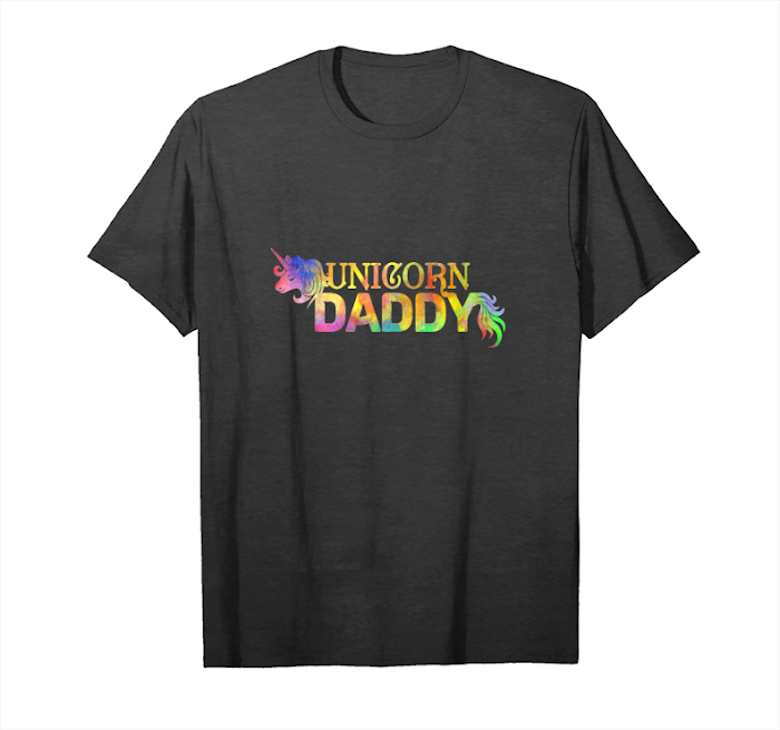 Trends Daddy Unicorn Themed Birthday Party Outfit Mens Gift Tshirt Unisex T-Shirt