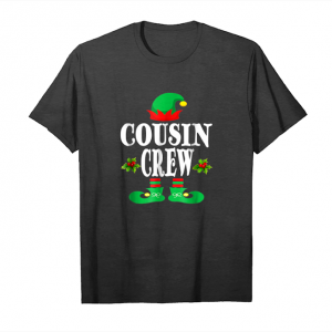 Order Now Christmas Cousin Crew T Shirt Elf Matching Pajama T Shirt Unisex T-Shirt