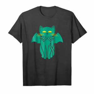 Cool Cathulhu Cat Cthulhu Monster Pun Funny T Shirt Unisex T-Shirt