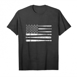 Buy Now Baseball American Flag Love Baseball Player T Shirt Unisex T-Shirt
