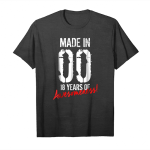 Trends 18th Birthday Gift Shirt   Awesome 18 Year Old Birthday Gift Unisex T-Shirt