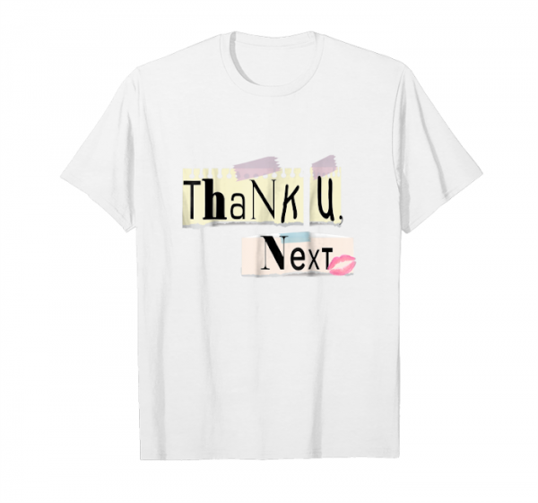 Buy Now Thank U, Next Distressed Vintage Text Only T Shirt Unisex T-Shirt