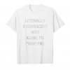 Trends Literally Everybody Was Kung Fu Fighting Tee Unisex T-Shirt