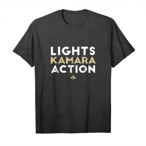 Get Lights Kamara Action Funny Football T Shirt New Orlean Unisex T-Shirt