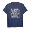 Get Now Warning I'm Retired T Shirt Retirement Joke Distressed Tee Unisex T-Shirt