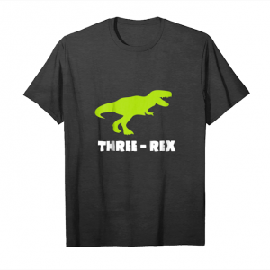 Cool Kids Kids 3 Year Old Birthday Boy Gift Shirt Dinosaur Three Rex Unisex T-Shirt