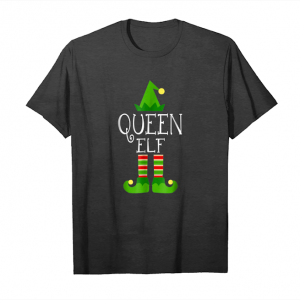 Get Now I'm The Queen Elf Matching Family Group Christmas Shirt Unisex T-Shirt