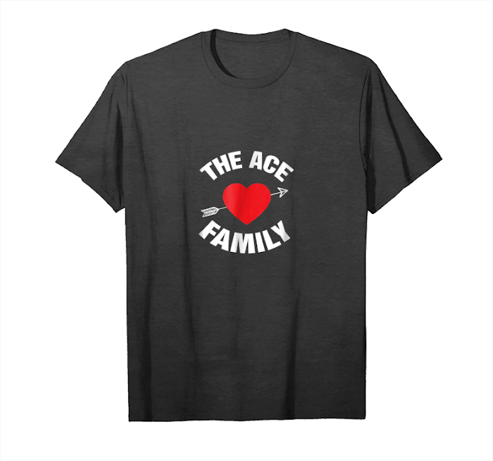 Buy Now Hearts Of The Ace Family Logo T Shirts Gift Playing Card Red Unisex T-Shirt