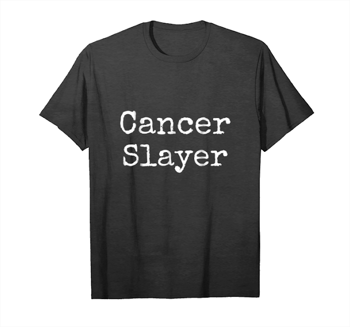 Order Breast Cancer Slayer Tshirt Brave Survivor Warrior Gift Tee Unisex T-Shirt