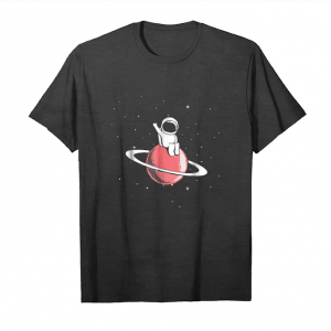 Cool Baby Astronaut Sits On Saturn Tshirt Unisex T-Shirt