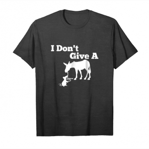 Order Now I Don't Give A Rat Ass Tshirt Gift Funny Donkey, Animal Unisex T-Shirt