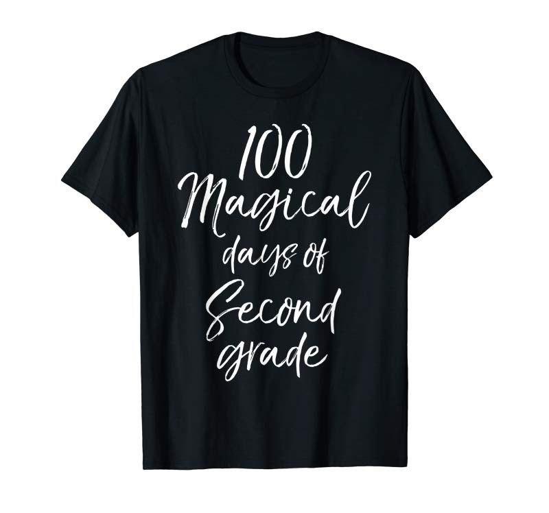 Order 100 Magical Days Of Second Grade Shirt For Girls Boys 100th